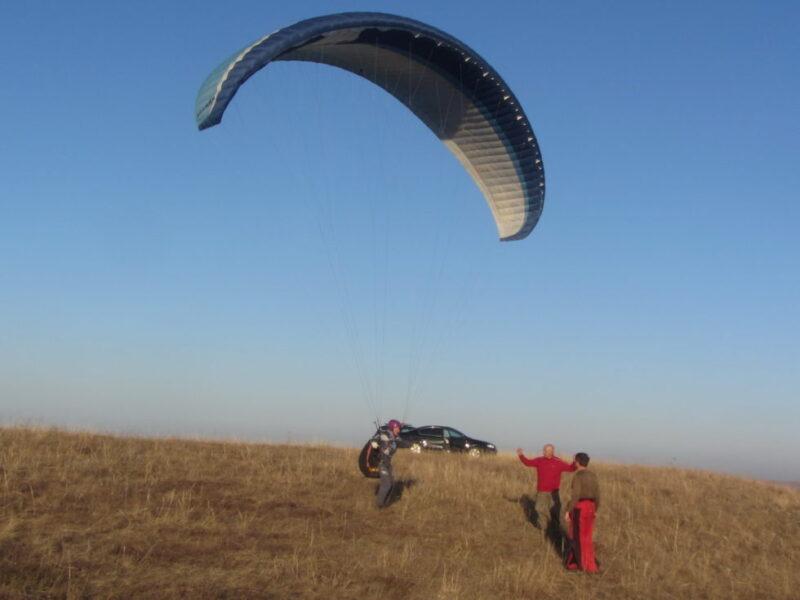 Обучение полетам на параплане в Крыму. Программа